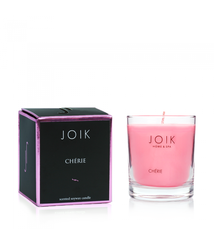"""Scented candle in the box """"Cherie"""""""
