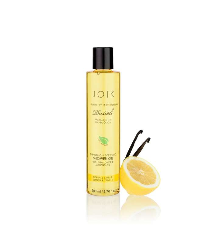 Shower oil Lemon & vanilla