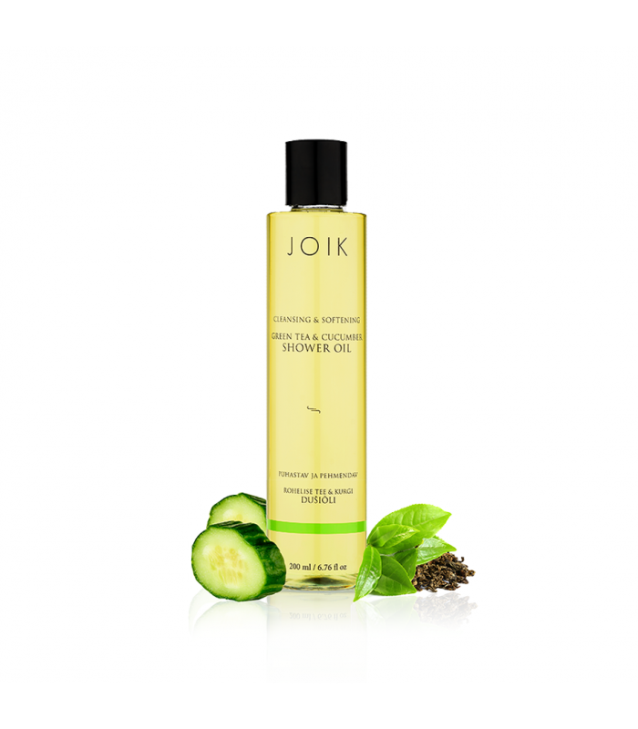 Shower oil with grapeseed and avocado oil