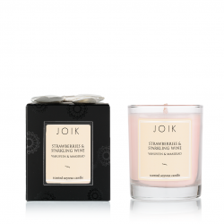 """Scented candle in the box """"Strawberries and wine"""""""