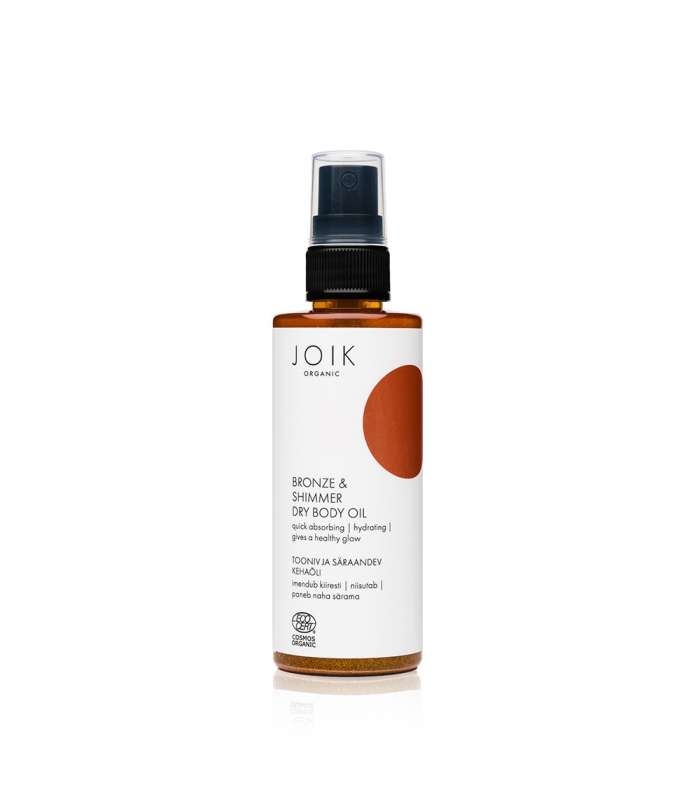 Bronze & Shimmer Dry Body Oil